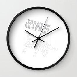 AIAS Exploded Axo Wall Clock