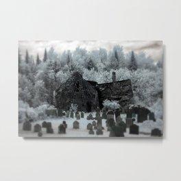 Abandoned Lot  Metal Print