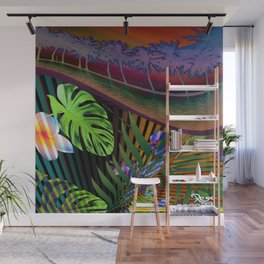 Island Wave by Kenny Rego Wall Mural