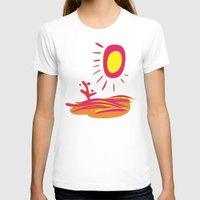 desert T-shirts featuring Desert by salamandra7