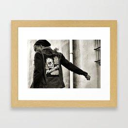 Take me back. Framed Art Print