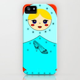 Cinderella Nesting Doll iPhone Case