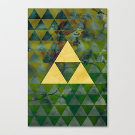 Link Geometry Canvas Print