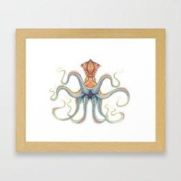 Cephalopod  Framed Art Print