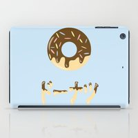 donut iPad Cases featuring DONUT. by Dani Does Art