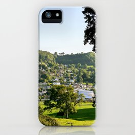 Lyme Regis Landscape iPhone Case
