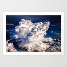 Climb the Stairs to Heaven Art Print