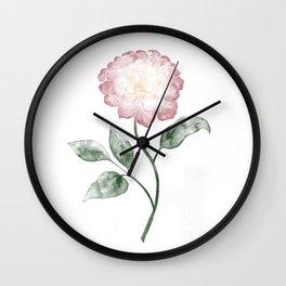 Pfingstrose | Peony Wall Clock