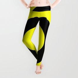 Target (Black & Yellow Pattern) Leggings