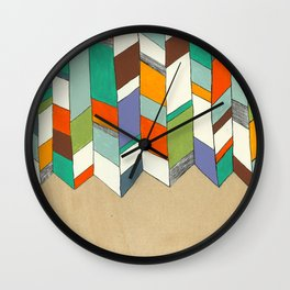 Quiver full of Colour Wall Clock