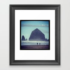 It fits the doubloon! Framed Art Print