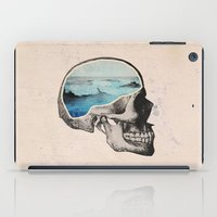 brain iPad Cases featuring Brain Waves by Chase Kunz