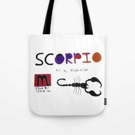 Scorpio Season(White) Tote Bag