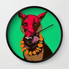 Dog Festival Wall Clock