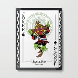 Skull Kid - Hylian Court Legend of Zelda Metal Print
