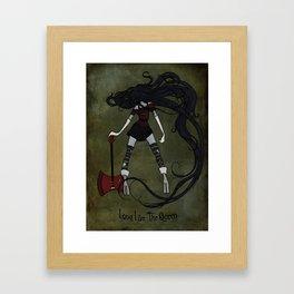 Long Live the Queen Framed Art Print