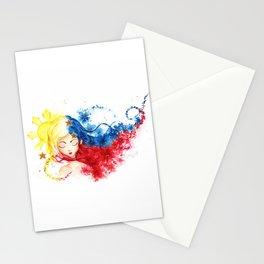 Lady Filipino Stationery Cards