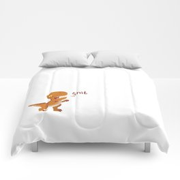 Potty Mouth Dinos: T-Rex Comforters
