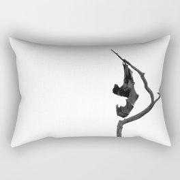 Bat Ballet Rectangular Pillow