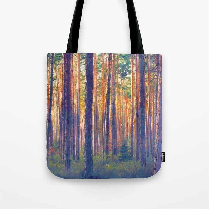 Forest - Filtering light Tote Bag