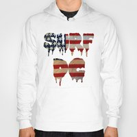 dc Hoodies featuring Surf DC by G. Shapero