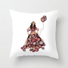 Le Ballon // Birthday Throw Pillow