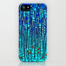 :: Blue Martini Celebration :: iPhone (5, 5s) Slim Case