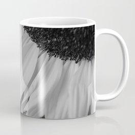 Black and White Sunflower Photography Print Coffee Mug