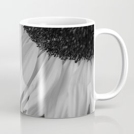 Black and White Sunflower Photography Print Coffee Mug