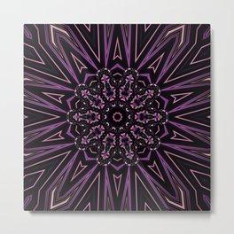 Pretty in Purple (3 of 3) Metal Print
