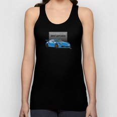 2016 Porsche 911 GT3 RS in Mexico Blue Unisex Tank Top