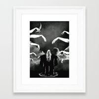 witchcraft Framed Art Prints featuring Witchcraft by Merwizaur