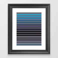 Blue Window Framed Art Print