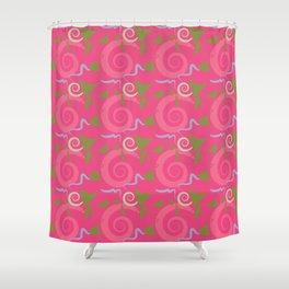 Fiesta - Hot Pink Shower Curtain