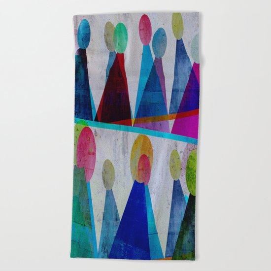 Volkslauf Beach Towel