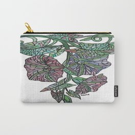 Art Nouveau Morning Glory Isolated Carry-All Pouch