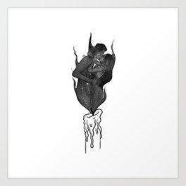 Twin flames. Art Print
