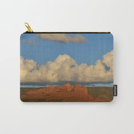 red rocks and a big cloud Carry-All Pouch