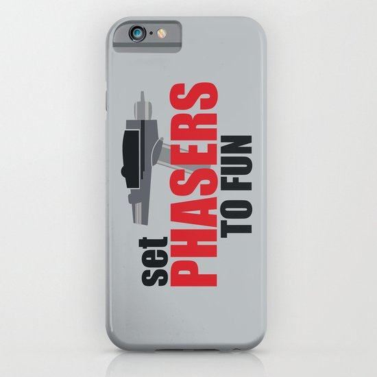 Set Phasers to Fun! iPhone & iPod Case
