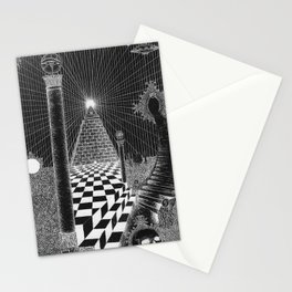 Stairs to the egyptian heaven Stationery Cards