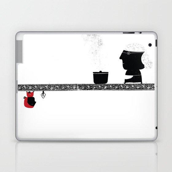 Little Red grandmother Laptop & iPad Skin