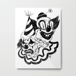 Coulrophobia Metal Print