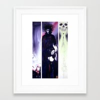 sandman Framed Art Prints featuring Sandman: Triptych by kenmeyerjr
