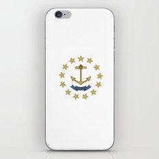 rhode island state flag united states of america  iPhone & iPod Skin
