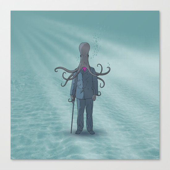 Beyond the Sea Canvas Print