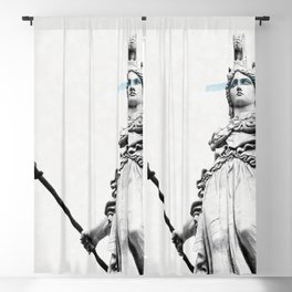 Athena the goddess of wisdom Blackout Curtain