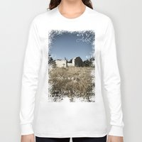 house Long Sleeve T-shirts featuring House by Anja Kidrič AdAk