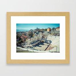 Amphitheater Framed Art Print
