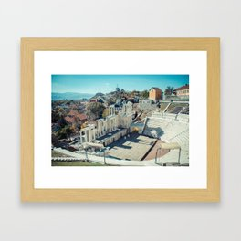 Amphitheater Framed Art Print