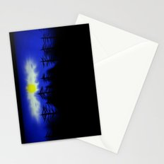 Spooky Forest Engulfs The Light Stationery Cards